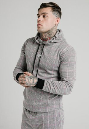 SMART OVERHEAD HOODIE - Sweat à capuche - grey/pink