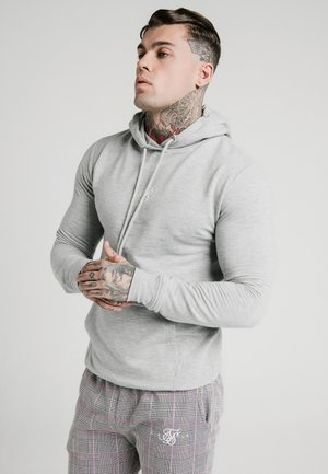 SMART OVERHEAD HOODIE - Sweat à capuche - grey marl