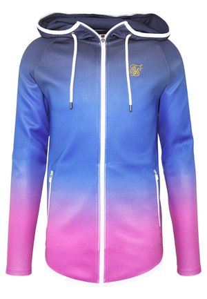 ATHLETE ZIP THROUGH FADE HOODIE - Felpa aperta - tri neon