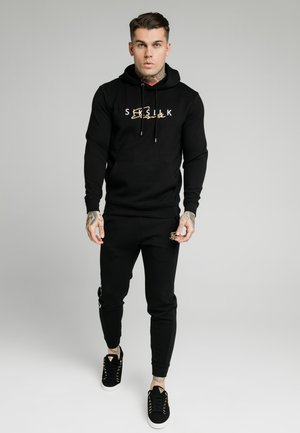 SIGNATURE OVERHEAD - Sweat à capuche - black
