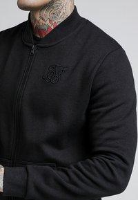 SIKSILK - veste en sweat zippée - black - 5