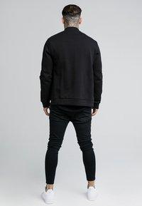 SIKSILK - veste en sweat zippée - black - 2