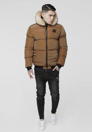 DISTANCE JACKET - Winter jacket - rust