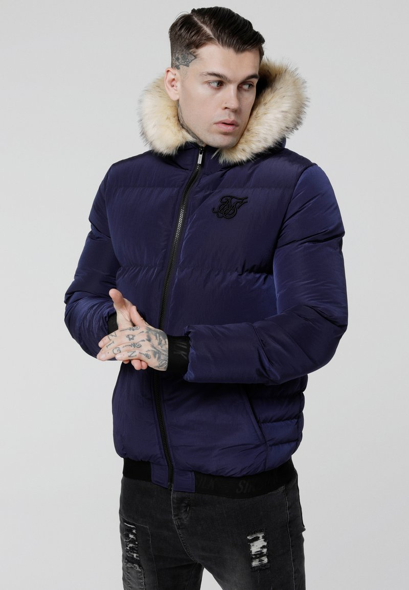 SIKSILK - DISTANCE JACKET - Chaqueta de invierno - navy