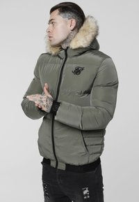 SIKSILK - DISTANCE JACKET - Winter jacket - khaki - 0