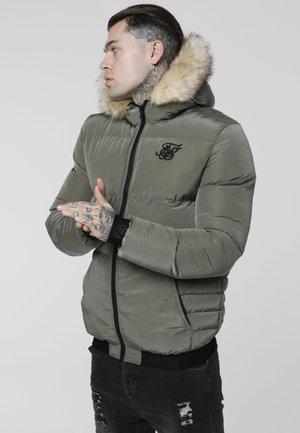 DISTANCE JACKET - Winter jacket - khaki