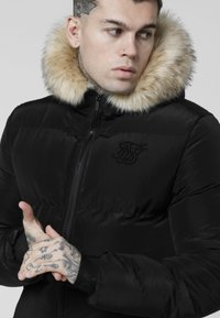 SIKSILK - DISTANCE JACKET - Zimní bunda - black - 5