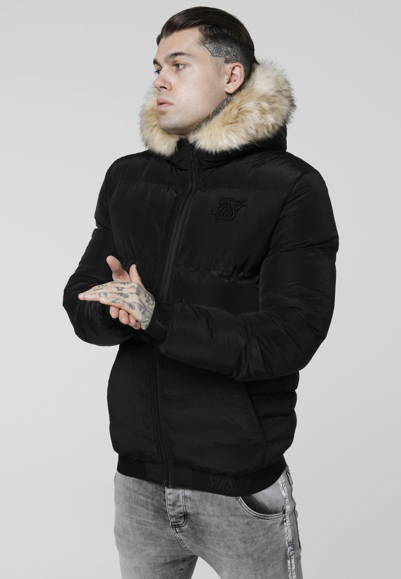 SIKSILK - DISTANCE JACKET - Vinterjacka - black