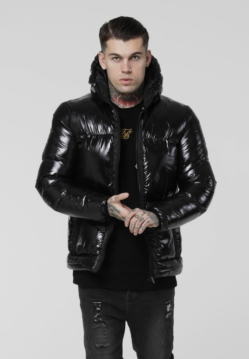SIKSILK - DRIVEN PADDED JACKET - Veste mi-saison - black