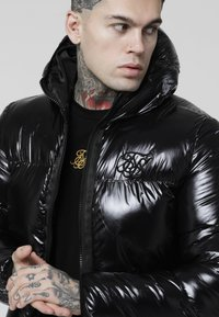 SIKSILK - DRIVEN PADDED JACKET - Veste mi-saison - black - 4