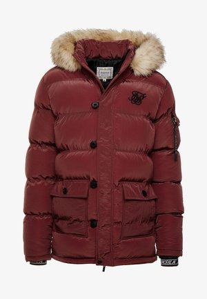 PUFF - Zimní kabát - burgundy