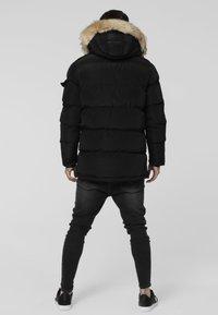 SIKSILK - PUFF - Winter coat - black - 2