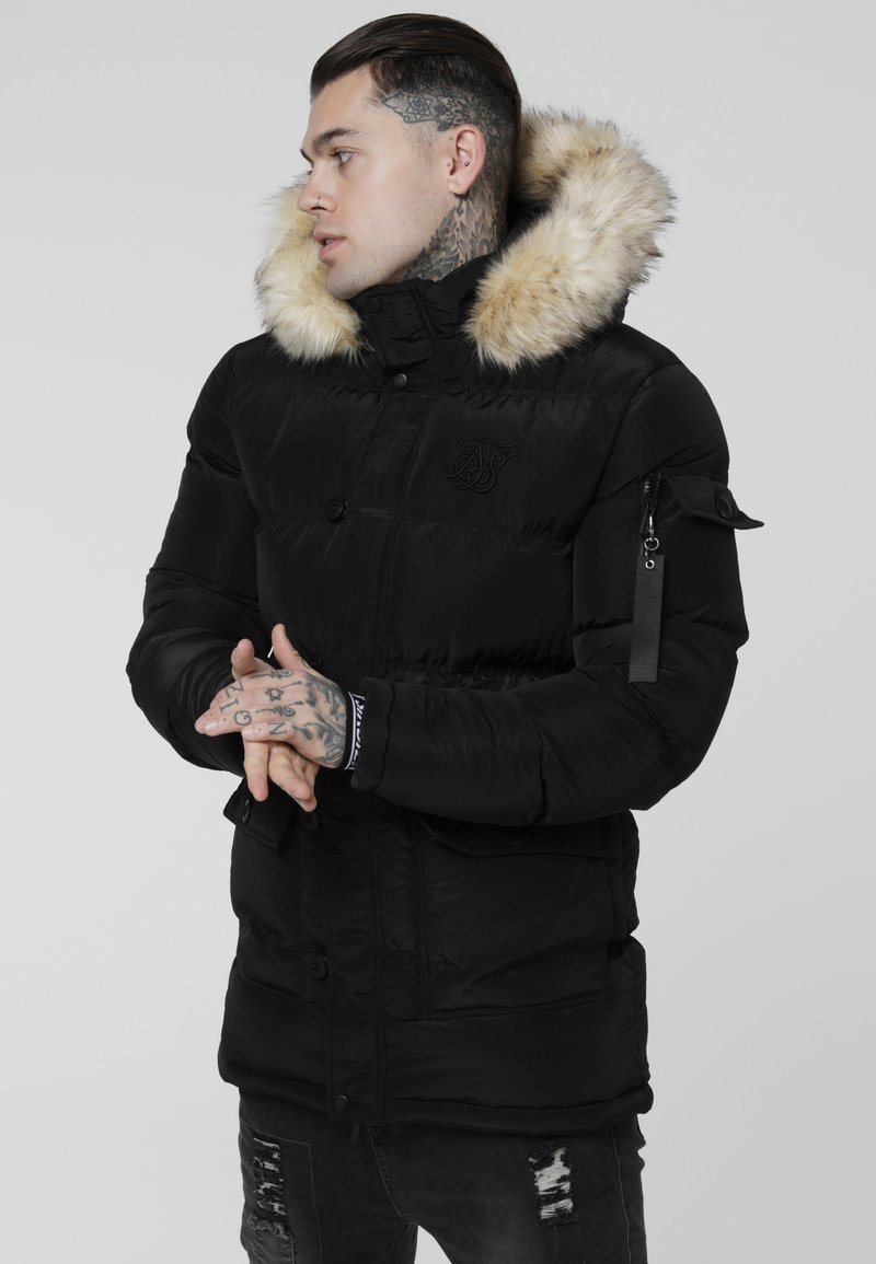 SIKSILK - PUFF - Winter coat - black
