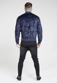 SIKSILK - DEBOSSED  - Veste de survêtement - navy - 2