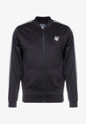PANEL TAPE BOMBER - Training jacket - black