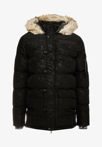 SIKSILK - PUFF  - Parka - black/wet camo - 4