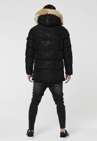 SIKSILK - PUFF  - Parka - black/wet camo - 2