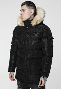 SIKSILK - PUFF  - Parka - black/wet camo - 3