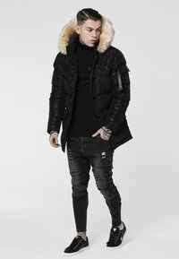 SIKSILK - PUFF  - Parka - black/wet camo - 1
