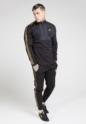 EVOLUTION HALF ZIP TRACK TOP - Korte jassen - black & gold