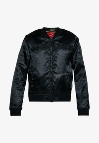 SIKSILK - DANI ALVES REVERSIBLE BOMBER JACKET - Giubbotto Bomber - dark red/black - 6