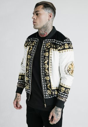 DANI ALVES JACKET - Blouson Bomber - black/off white/gold