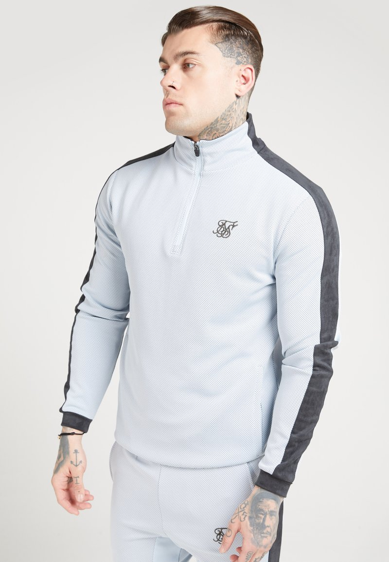 SIKSILK - Trui - ice grey charcoal