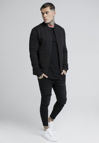 SIKSILK - veste en sweat zippée - black - 1