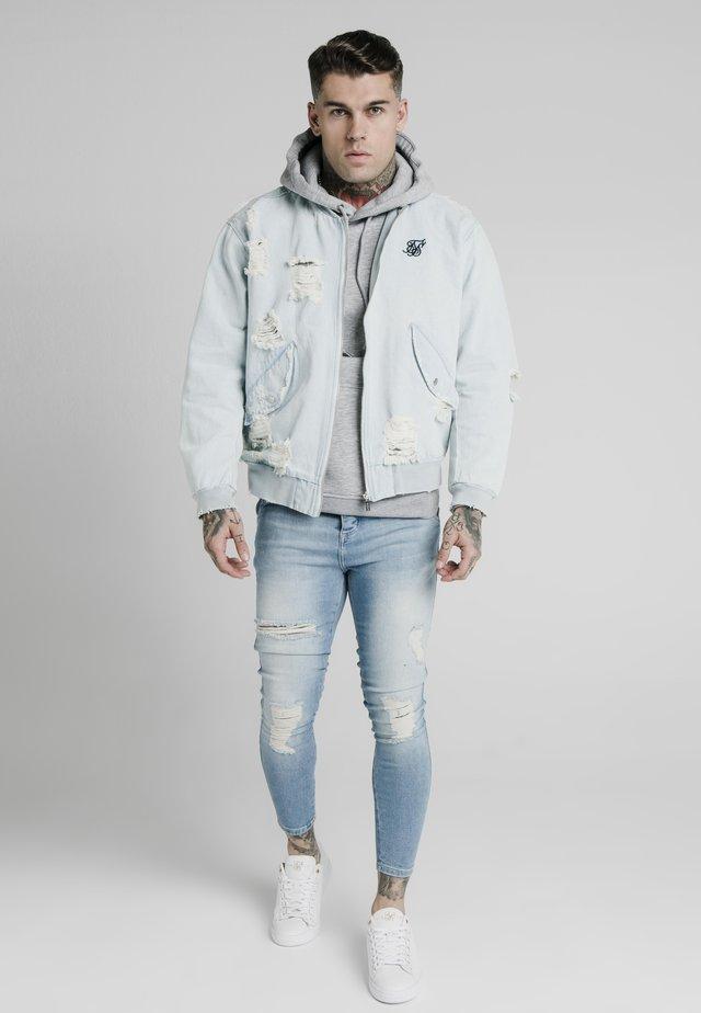 Džínová bunda - light blue