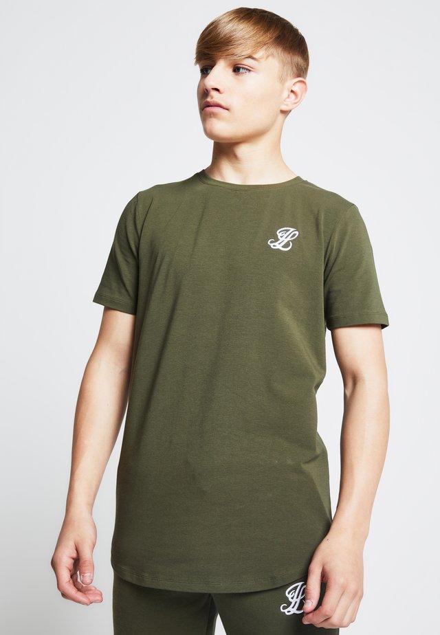 LONDON  - T-shirt basic - khaki