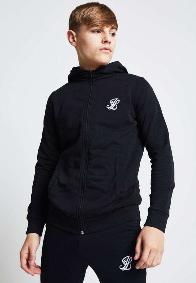 ILLUSIVE LONDON  - Zip-up hoodie - black