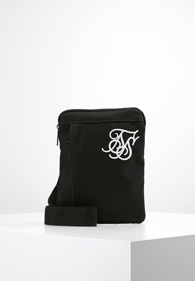 SIKSILK - CROSS BODY FLIGHT BAG - Sac bandoulière - black