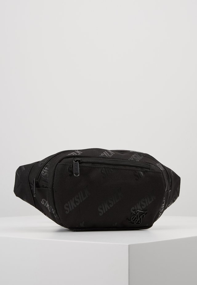LOGO BUMBAG - Bum bag - black