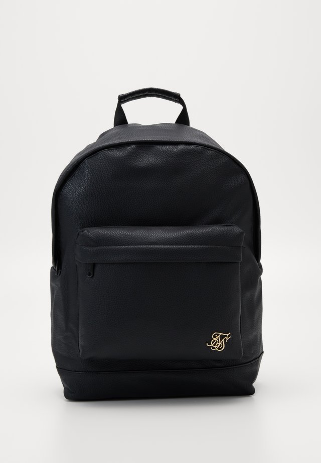 GRAINED BACKPACK - Ryggsäck - black