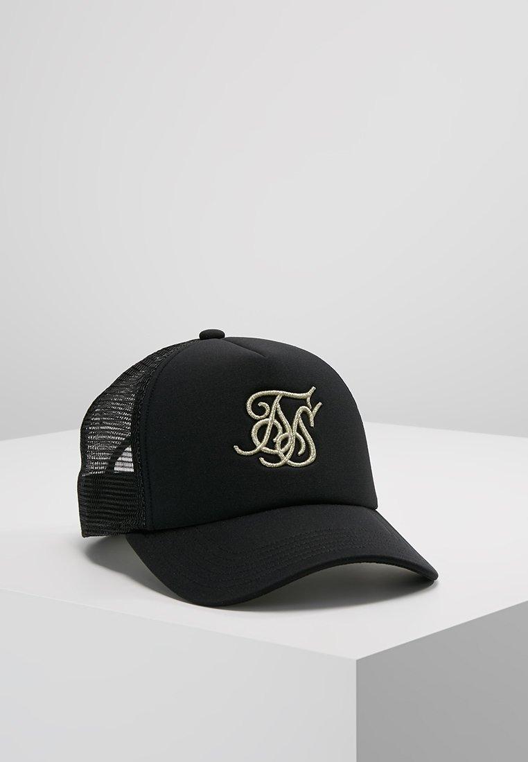 SIKSILK - TRUCKER - Cap - black/gold