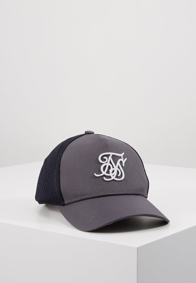 UNIFORM TRUCKER - Keps - grey/indigo