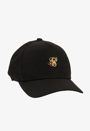 Cap - black denim