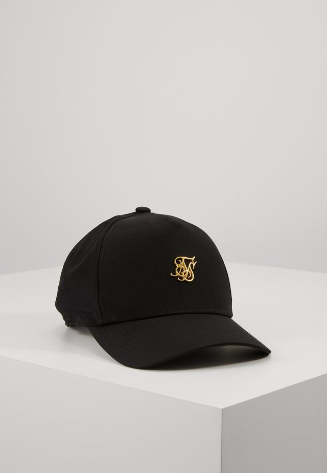 Cap - black denim