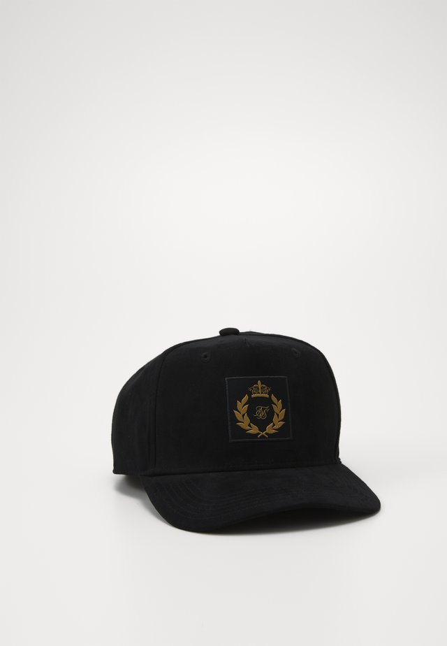DANI ALVES SUEDE TRUCKER - Cap - black