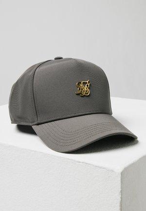 Caps - dark grey