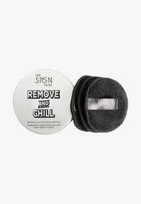 THE SIGN TRIBE - REMOVE AND CHILL REUSABLE REMOVER PADS - Make-up-Accessoires - black - 0