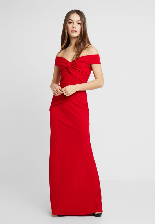 MARINA - Robe longue - red