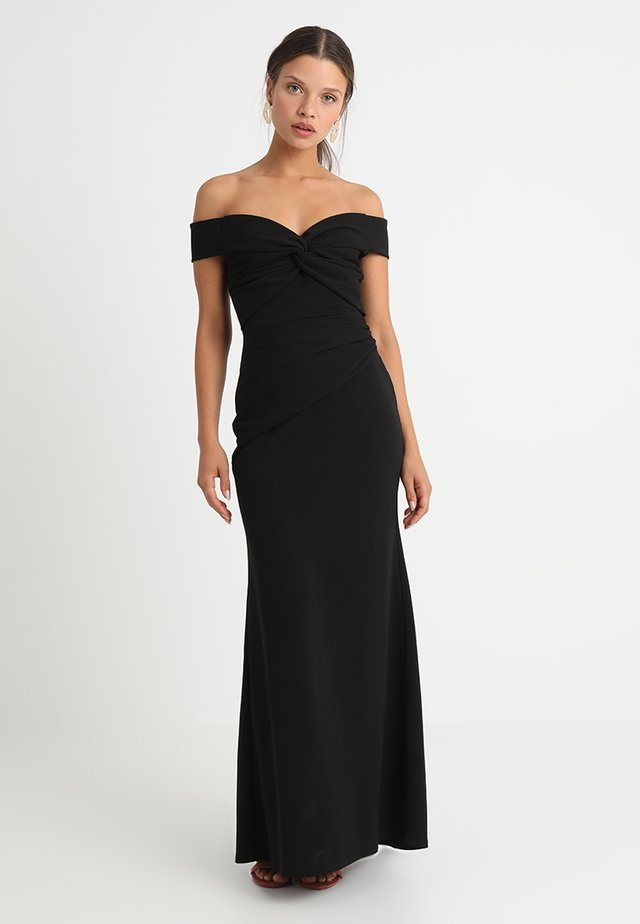 MARINA - Maxikleid - black