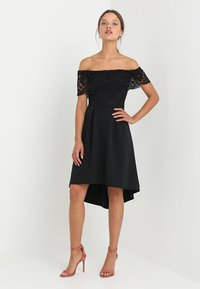 SISTA GLAM PETITE - LIAH - Cocktail dress / Party dress - black - 1