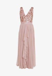 SISTA GLAM PETITE - YASMIN - Společenské šaty - rose gold - 5