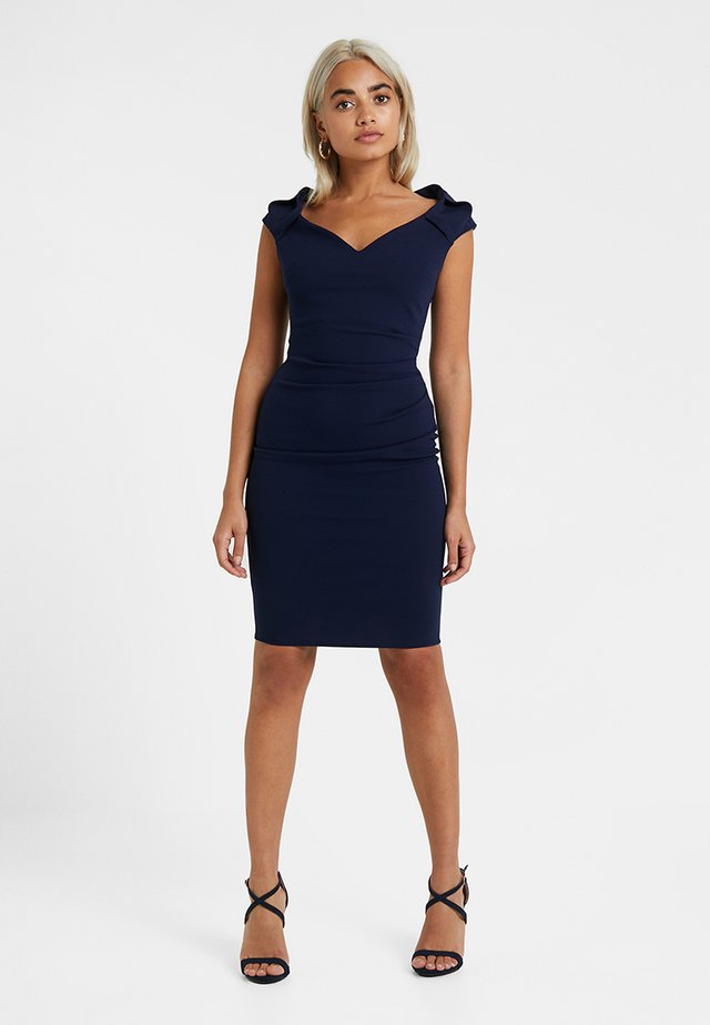 CASSIDY - Shift dress - navy