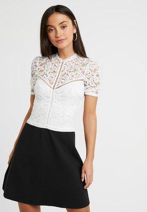 MISSIE - Vestito elegante - black/white