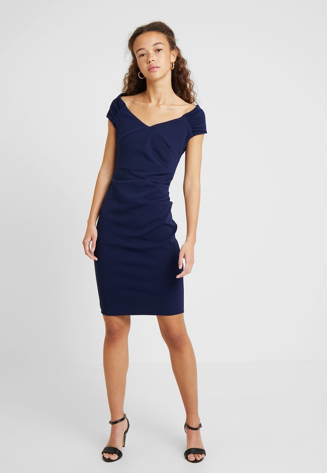 CANDICE - Robe fourreau - navy