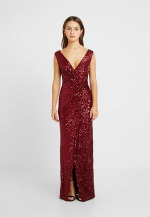 SANDRA - Vestido de fiesta - dark red