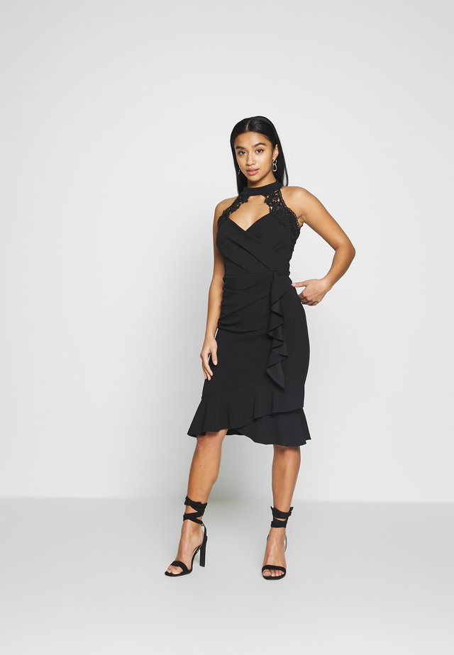 LEESHA - Cocktail dress / Party dress - black
